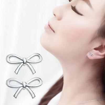 Fashion Womens Girl Silver Plated Earrings Ear stud Jewelry Gift New