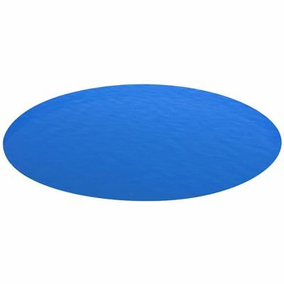 vidaXL Pool Cover Round 549 cm PE Blue Safety Ground Cloth Protect Base Sheet