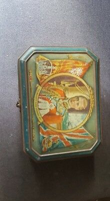 king edward viii coronation tin