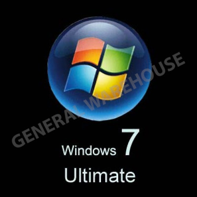 Genuine Windows 7 Ultimate with Service Pack 1 Lifetime Licence Key - 32/64 Bit