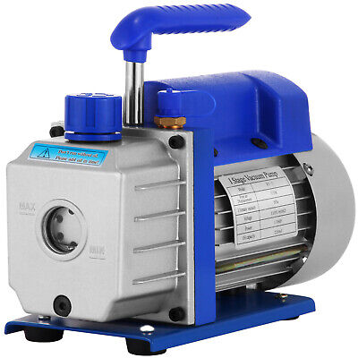 250ML  Vacuum Pump 3 CFM Rotary Vane Single Stage 1/3 HP extraction modelling