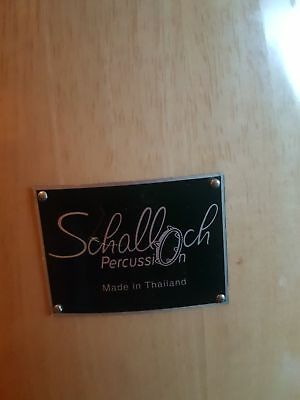 Schalloch conga drums with stand.