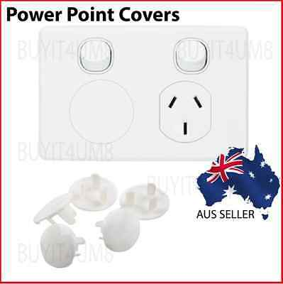 12 x Baby Child Safety Plug Power Board Socket Outlet Point Protective Covers