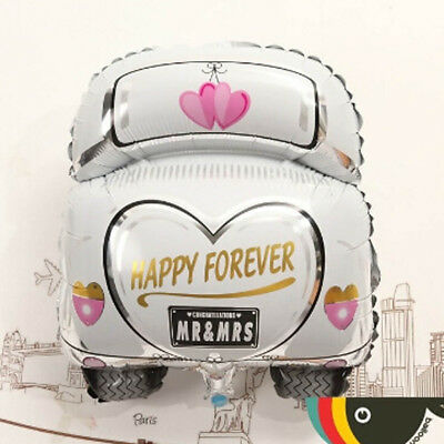Happy Forever Just Married Shape Car Foil Balloons Wedding Party Decoration