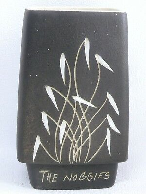 Australian Pottery Vintage Gunda Vase - The Nobbies Retro Studio Ceramics
