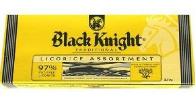 New Zealand Black Knight Traditional Licorice Assortment 250g