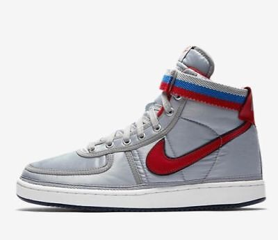 best sneakers 3187f 522a7 Nike Vandal High Supreme Qs - Metallic Silver   Red Ah8652 001 - Eu 45 -