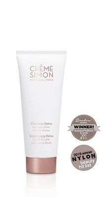 Creme Simon - Brightening Cleansing Gentle Double Exfoliation Scrub - 75 mL
