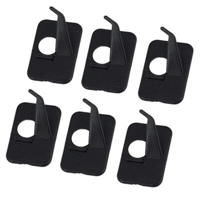 6pcs Adhesive Arrow Rest Left Hand for Archery Recurve Bow Hunting Shooting