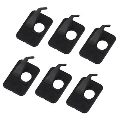 6pcs Adhesive Arrow Rest Right Hand for Archery Recurve Bow Hunting Shooting