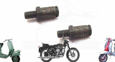 Lambretta Brake Shoes Pivot Pins 2 Units Li Sx Scooters @aus