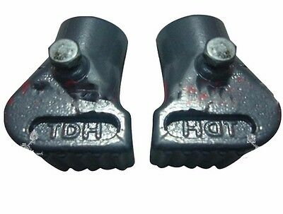 New Vespa Px Lml Star Stella Main Stand Shoe Feet Pair Grey @aus
