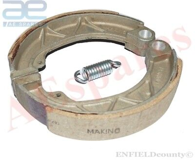 Vespa Rear Brake Shoe Set 8 Inch Vespa Super Vnc  Vbc @aus