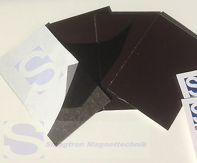 50 x Business Cards Magnet Foil Self-adhesive - 0,5MM 55mm 85mm