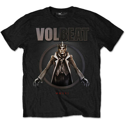 NEW Volbeat Men's Tee: King of the Beast (Small)
