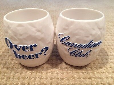 Canadian Club Snowball Cups X 6 - New