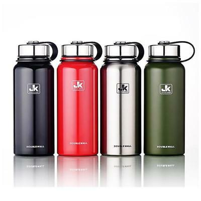 Insulated Thermos Stainless Steel Bottle Thermo Vacuum Flask Large Capacity Mug