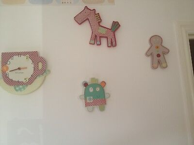 nursery decor mamas and papas gingerbread theme, perfect condition. Wall decor