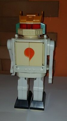 Robot anni 70 Dinamic Warrior Battery Operated Space Spazio Ufo Fight Tank