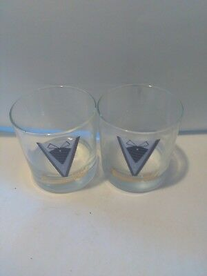 Canadian club glasses set of four