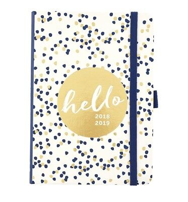 Academic Year To Do Diary August 2018-19 by Busy B Week To View Layout