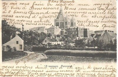 carte postale - Péruwelz - CPA - Bonsecours - Panorama