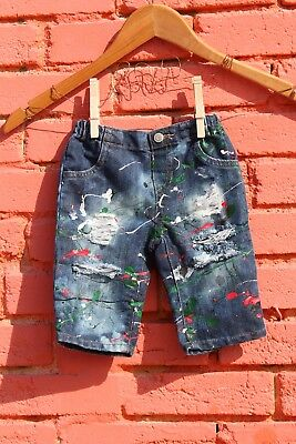 3-6 Months Jeans Baby Distressed Infant Ripped Children's Place Denim Christmas