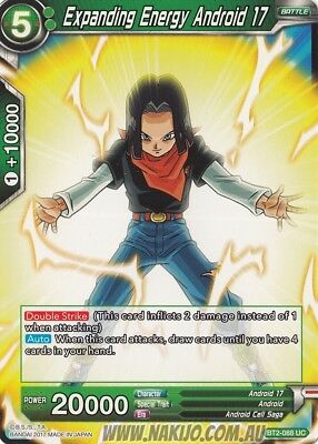 Dragon Ball Super - 4x Expanding Energy Android 17 - BT2-088 - Uncommon