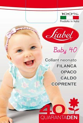 Collant 40 Den Neonata Filanca Liabel Art. 4028 Baby 40