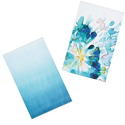 Kitchencraft Abstract Flower '100% stampato floreale strofinacci, 70 x (r2g)