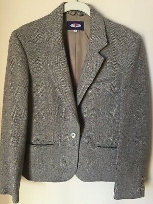 Womens  8 Equestrian Riding Blazer Jacket Wool Fully Lined -Country Squire