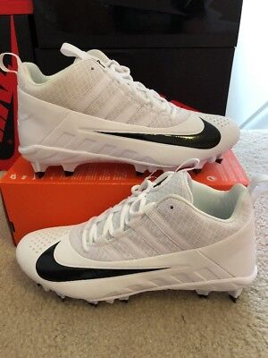 Nike Men's Alpha Huarache 6 Pro Lacrosse Cleats White/black 904581 101