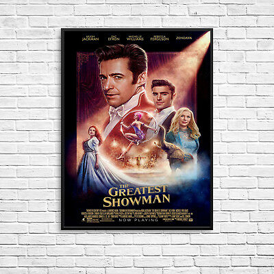 The Greatest Showman Movie Print Poster Wall Art A3 Zac Efron Hugh Jackman -1081