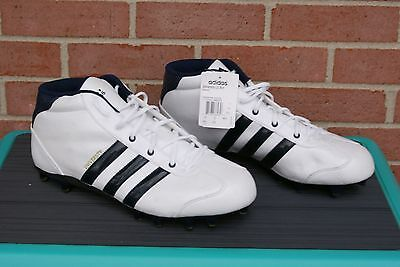 45d051170cd Men s ADIDAS university le mid Football Cleats Shoes size White 13.5 New