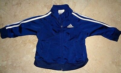Embroidered Navy Blue Adidas Jacket size 9 months