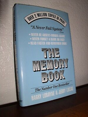 The Memory Book Lorayne Harry And Lucas Jerry Ebook