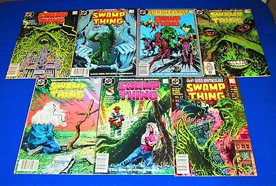 Lot of 7 SWAMP THING Issues 49 - 55 [DC 1986] VF/NM or Better!