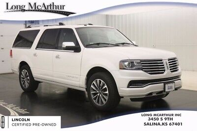 2017 Lincoln Navigator SELECT L 4WD 6 SPEED AUTOMATIC 7 PASSENGER SUV MSRP $71025 ONE OWNER! 2ND ROW HEATED SEATS 3RD ROW POWERFOLD SEATS WITH ONE TOUCH FOLD FLAT
