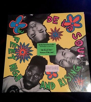De La Soul 3 Feet High & Rising Hip Hop Classic 2LP Vinyl Me Myself And I