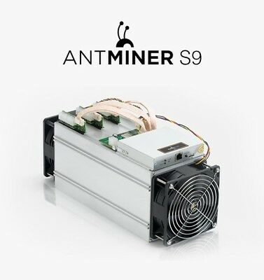 Bitmain Antminer S9 with PSU *read*