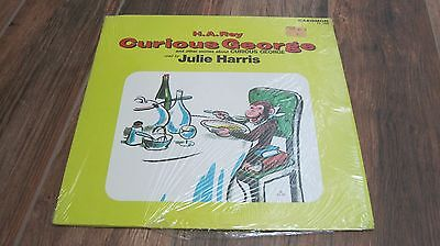 H.A.Rey Curious George LP record read by Julie Harris