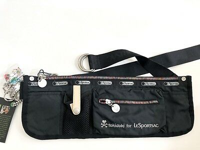 BRAND NEW Tokidoki for LeSportsac Canguro Notte Fanny Pack, Black/Multicolor