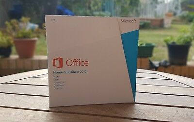 MICROSOFT OFFICE HOME AND BUSINESS 2013 Product Key Card+DVD
