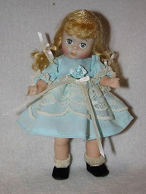 "8"" Vintage Madame Alexander Doll W/Braids Marked ALEX Redressed"