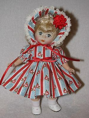 "8"" Vintage Madame Alexander Doll Marked ALEX Redressed"
