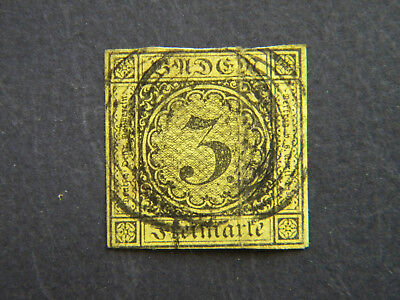 Germany Baden Scott #2 Used as is...................................READ Details