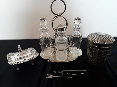Job Lot Of Silver Plated  Items - Various Items