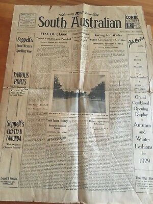 The South Australian News Papper March 7 1929