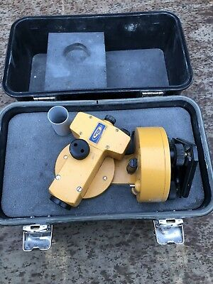 Trimble Spectra Precision Model 1212 Transit Theodolite With Case