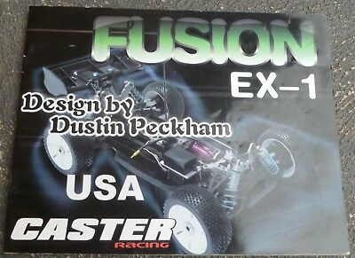 Caster Fusion EX-1 1:8 Electric Buggy Instruction Manual